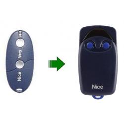 NICE 2 botones FLO-2. 10 Digitos binario 433 Mhz.