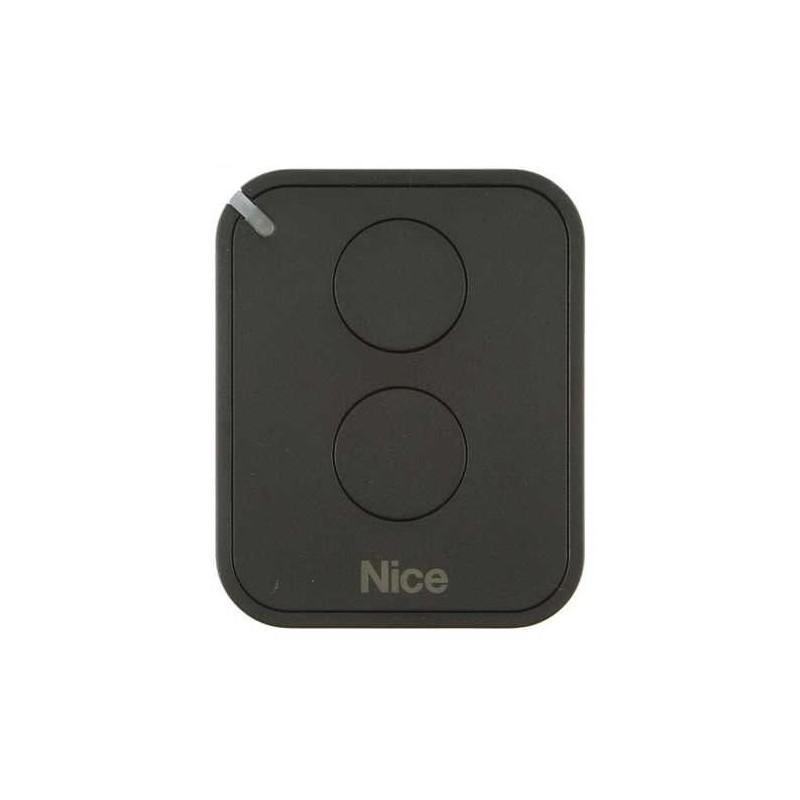 Mando de garaje original de 2 botones y frecuencia 433 MHz NICE FLO2RE