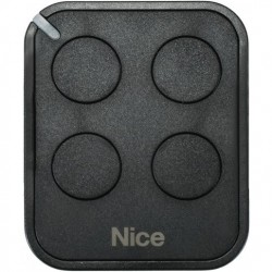 Mando de garaje original de 4 botones y frecuencia 433 MHz NICE FLO4RE