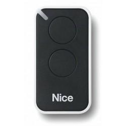 Mando de garaje original de 2 botones y frecuencia 433 MHz NICE INTI 2