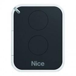 Mando de garaje original de 2 botones y frecuencia 433 MHz NICE ON2E