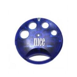 Mando de garaje original de 4 botones y frecuencia 433 MHz NICE SMILO4