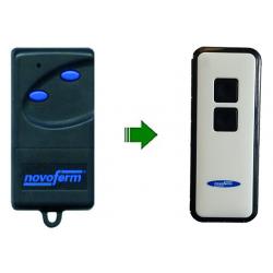 Mando de garaje original de 2 botones y 433.92 MHz NOVOFERM NOVO 522