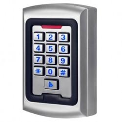 Control de acceso autónomo Acceso por teclado y RFID Salida relay, alarma y timbre