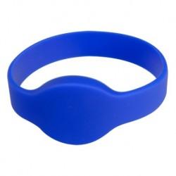 Pulsera de identificación por proximidad de máxima seguridad, de color azul.