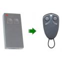Mando de garaje original 2 botones frecuencia 433 MHz PRASTEL MPSTP2E