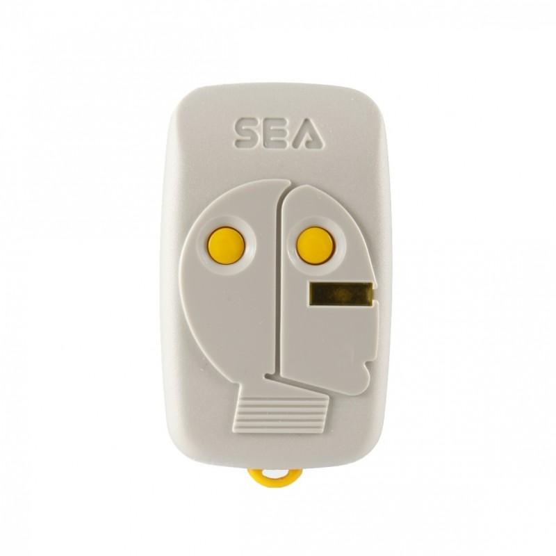Mando de garaje original de 2 botones y 868.35 MHz SEA HEAD 2 SWITCH