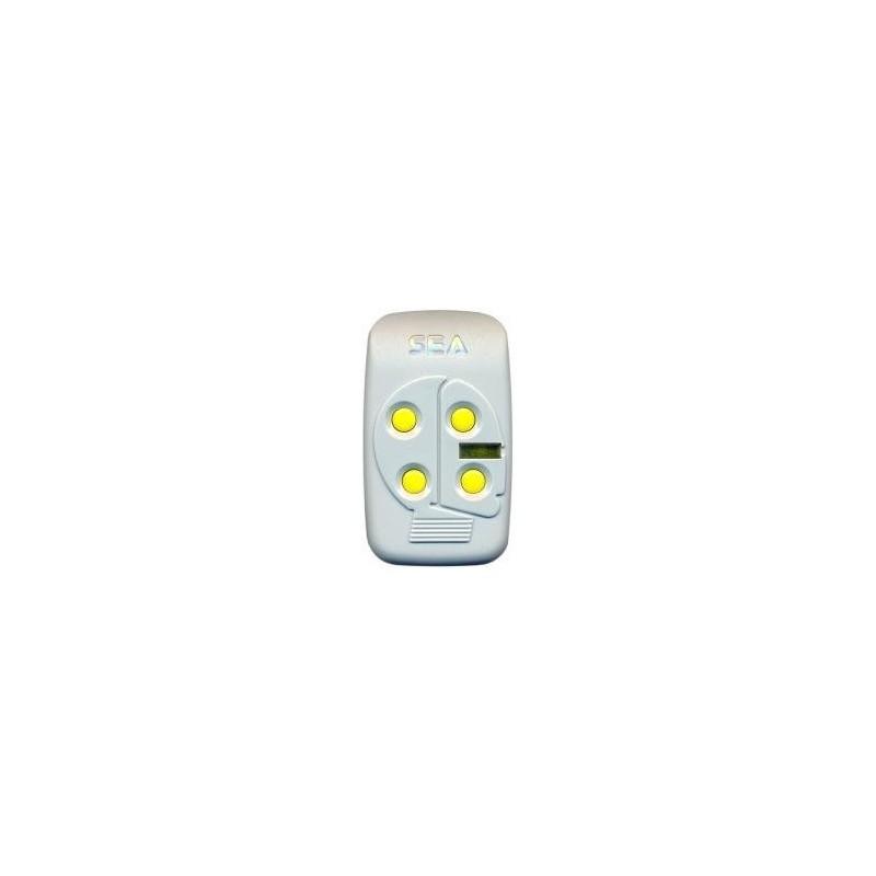 Mando de garaje original de 4 botones frecuencia 868 MHz SEA HEAD 4 RC