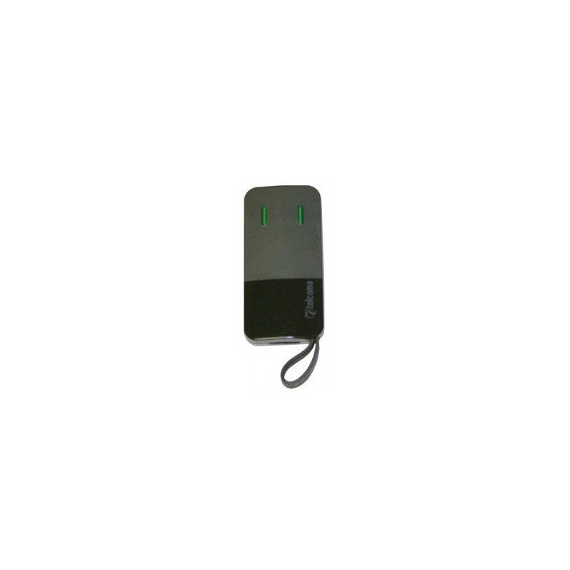Mando de garaje original 2 botones y frecuencia 433 MHz TELCOMA FM402E