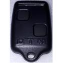 Carcasa de protección de mando de garaje para sustitución color negro