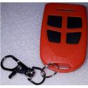 Carcasa de protección de mando de garaje para sustitución y color rojo