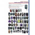 Mando de garaje autocopy código fijo y evolutivo 433 y 868 PCROLL PC48