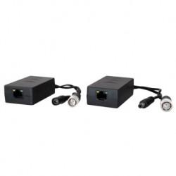 Transceptor pasivo por par trenzado Optimizado para HDTVI,HDCVI y AHD Alcance: 200 ~ 400 m