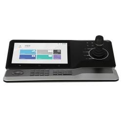 Teclado HD IP de control de cámaras Domo motorizadas | Pantalla táctil
