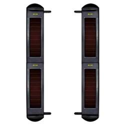 Barrera infrarroja inalámbrica de 4 haces exterior y 100m de alcance