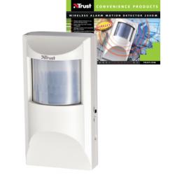 Detector de movimiento PIR inalámbrico para alarmas Trust de serie 200