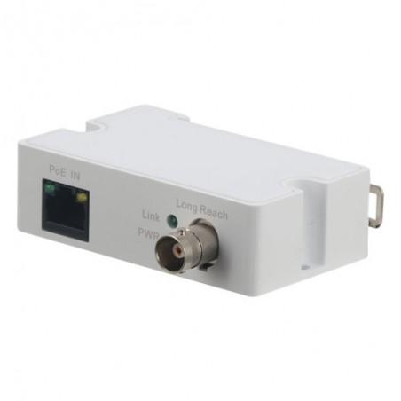 Extensor Ethernet pasivo sobre coaxial. Conversor para Switch / Emisor