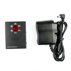 Detector de cámaras espía con 6 LEDs para encontrar lentes ocultas
