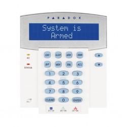 Teclado Paradox Evo K641R con pantalla LCD y con lector de proximidad
