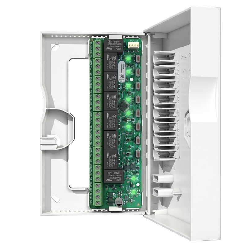 Módulo de comunicación 8 salidas PGM 4A con caja para alarmas Paradox