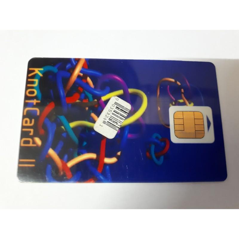 Knot Card II Tarjeta plástica inteligente de nueva generación S.O 3.5