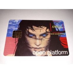 Tarjeta inteligente universal Open Platform ATMEGA compatible PCMCIA