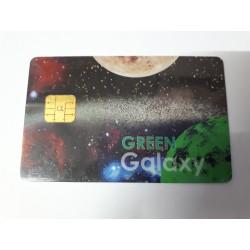 Tarjeta de programación inteligente modelo Green Galaxy