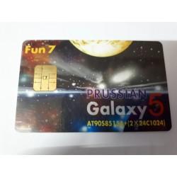 Tarjeta de programación inteligente Prussian Galaxy 5 con sistema Fun7