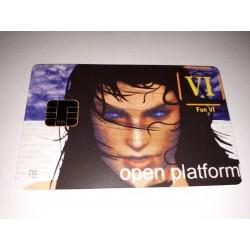 Tarjeta plástica de programación inteligente Open Plataform FUN VI