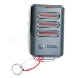Mando de garaje original de 3 botones frecuencia 433 MHZ ERREKA KUMA3