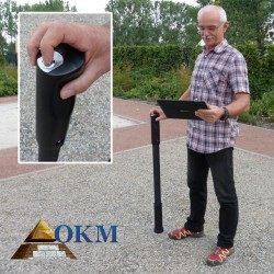 Escáner de suelo en 3D y detector de metales OKM Fusion Professional