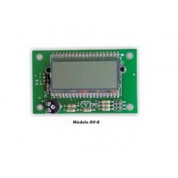VOLTIMETRO DIGITAL CON LCD: +-2V/20V/200V DC