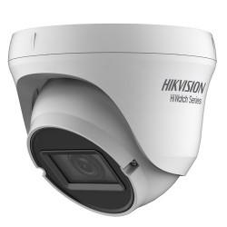 Cámara de vigilancia Hikvision tipo domo universal de 2mpx y 2.8~12 mm
