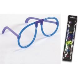 Gafas luminiscentes de color azul de Ø 0.5 x 20 cm