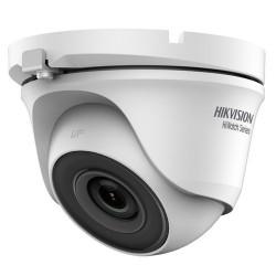 Cámara de vigilancia domo Hikvision de exterior, 4mpx y 2.8mm + IR 20m