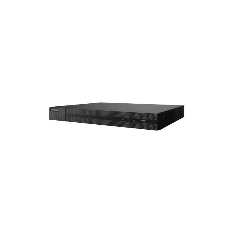 Grabador NVR Hikvision para 32 cámaras hasta 8 mpx, 16 PoE, 256 Mbps