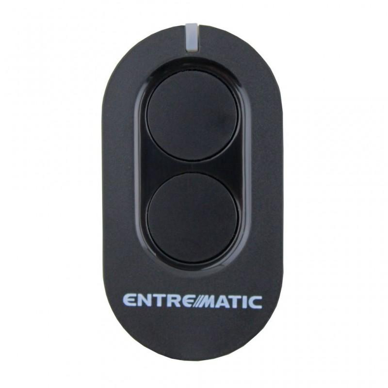 Mando de garaje de 2 botones frecuencia 433.92 MHz ENTREMATIC ZEN2