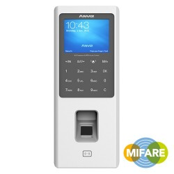 Control de accesos y presencia por huella, tarjeta Mifare y/o PIN