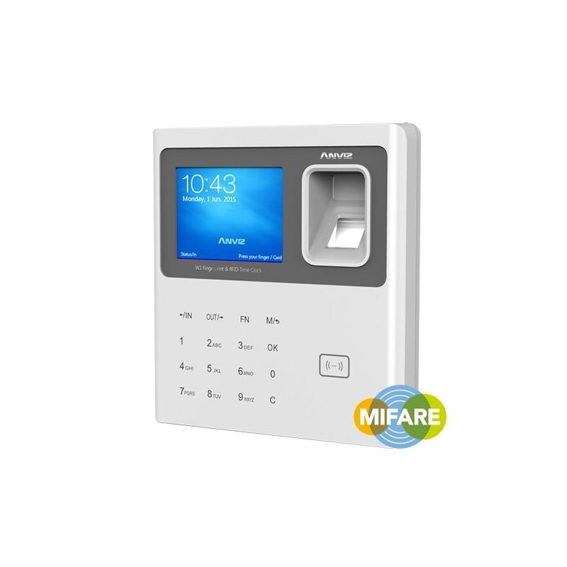 Control de presencia Anviz por huella, tarjetas MIFARE y teclado
