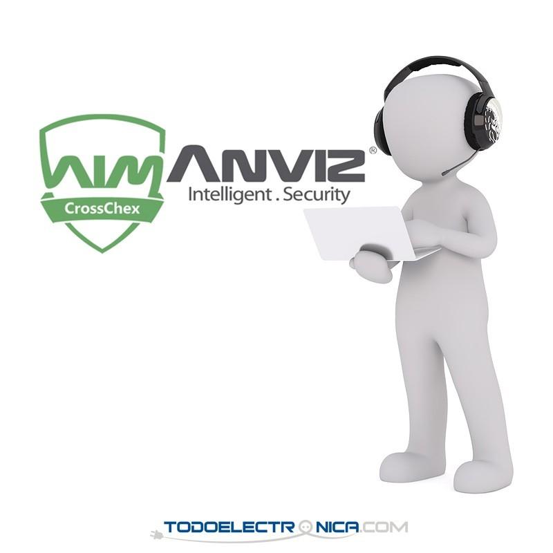 Ayuda personalizada remota para control de presencia Anviz (1 hora)