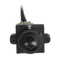 Cámara espía oculta en tornillo. 380 líneas 3.0 Lux 3.7 mm. Audio incorporado.