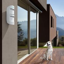 Detector PIR doble AJAX de exterior con antimasking y antimascotas