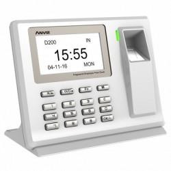 Control horario Biometrico D200 huellas (Software gratuito)