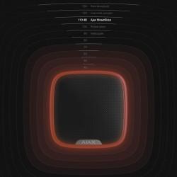 Sirena inalámbrica AJAX color negro de exterior, máx 113 dB sin cuotas