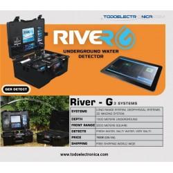 Detector de agua RIVER G con 3 sistemas de detección