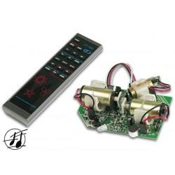 Módulo láser crab 5mW con mando a distancia IR