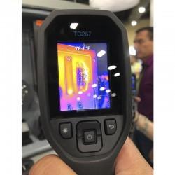 Cámara termográfica FLIR TG267 con MSX y resolución térmica 160 x 120