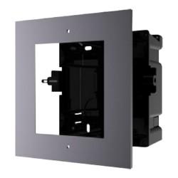 Panel y caja encastrable para hasta 1 módulo de videoportero Safire