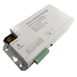 Alimentador para control de accesos NC/NO con batería, Wiegand y RS485