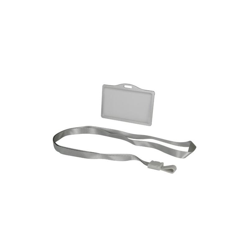 Porta-tarjetas con cordón para tarjetas de proximidad